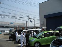 職域展示ホンダ.JPG