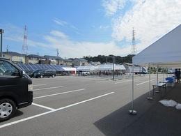 陽だまり丘祭りホタルブース準備 (6).JPG