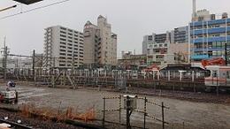 養老鉄道桑名駅内から.JPG